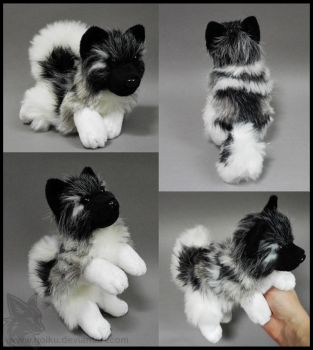Sold Norwegian Elkhound Small Floppy By Cyanfox3 On Deviantart