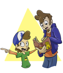 Request for VelociPRATTor Dipper and Danny Pines by Darkstar-Child
