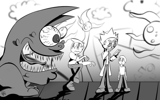 Rick and Morty Contest entry 2 by Thesimpleartist4