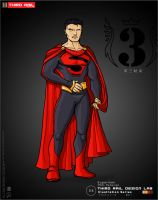 TRDL - Superman Redesign by TRDLcomics