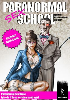 Paranormal sex school cover by LarsRune