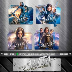 Alita Battle Angel [2019] Folder Icon Pack by deoxsis