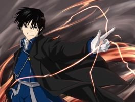 Roy Mustang - Flame Alchemist by cat-cat