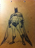 Batman animation style by BChing
