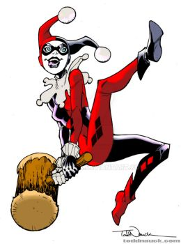 My Colors for Todd Nauck Harley Quinn by Brenofil