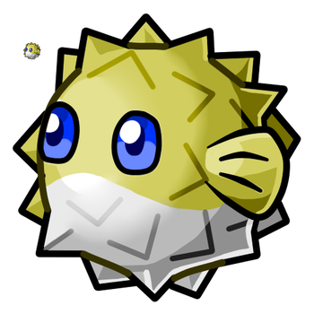 Puffer Fish by SmeagleLeaf