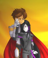 Widow X Artix (Special Request 28/50) by GwenethSong