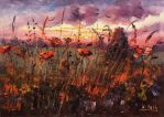 SUNSET MEADOW by Kasia1989