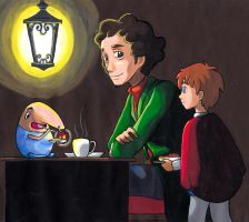 Swaine, Oliver, and Mr. Drippy by FullmetalDevil