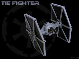TIE Fighter (mkII) by Scharnvirk