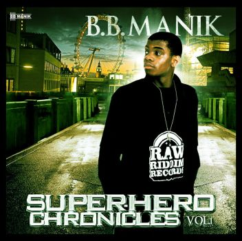 Super-Hero Chronicles Cover by BBManik