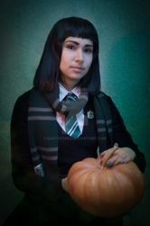 Pansy Parkinson - Halloween Style by DarthTepes