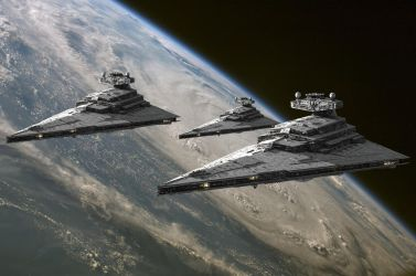 Imperial Star Destroyers by Balsavor