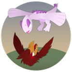 [PKMN-CrescentCavern] Event Week 2 - BIRD FIGHT by DawnOfTheTigress