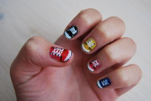 Converse Nails in HQ by martinrivass