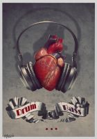 Heart rhythm by Katie-Watersell