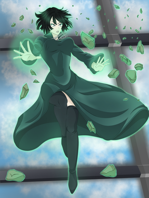 Fubuki - One Punch Man by AlphaDeltaZeta