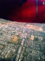 Chandigarh from the Sky by karthik82