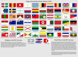ALL the Flags of Strike Witches by ThanyTony