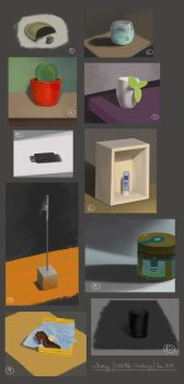 10-day challenge: Still life by ralidraws