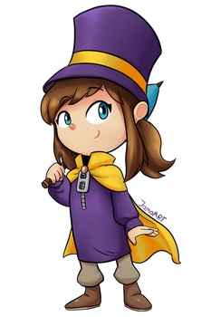 Hat Kid! by JamoART