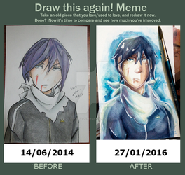 Draw this again meme by Cybercluster