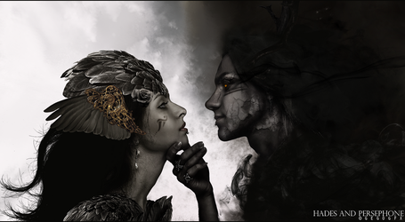 hades and persephone by Gedogfx