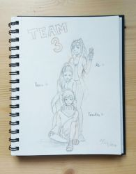 [My Sketchbook] #6 Team 3 by KeiARTx