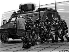 SWAT by wave-lens