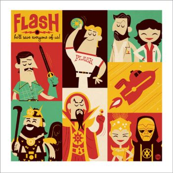 Flash Gordon by Montygog