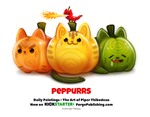 Daily 1361. Peppurrs by Cryptid-Creations