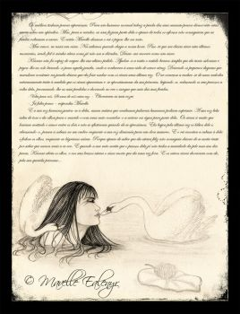 Last Song of the Swan - book page mockup by Mavelle-Ealenyr