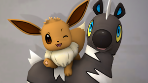 [SFM] - Eevee and Blitzle