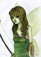 Faerie Archer by valiant-nk