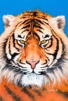 Eyes of the Tiger by Mariusart