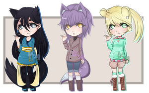 .: CLOSED - Batch 1 :. by Voiceless-Adopts