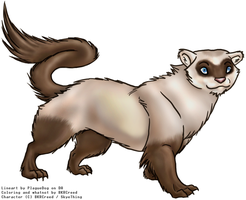 There's that ferret again by Spork-san