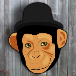 Vector Chimpsworth by SurnThing