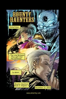 Bounty Haunters Book 2 Chapter 3 Promo by Amelie-ami-chan