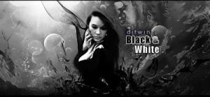 Black and white by djtwinz