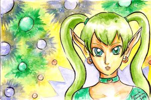 05172008 green hair by NenaLuna
