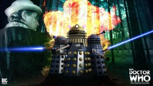 Doctor Who - The Genocide Machine Art - Big Finish by GrantBattersby