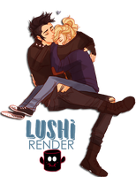 Percabeth - Percy and Annabeth by Lushi08