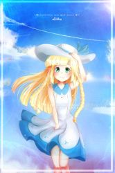 Lillie / Pokemon sun and moon by Bgm94