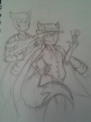 Wolfie and Nickolas by SnapCrackle420