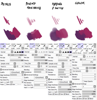 My brushes for digital painting by Shiro-Daemon