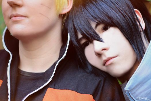 NaruSasu / Naruto and Sasuke / SNS by YuureiCosplay