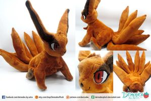 Kurama chibi plush by DemodexPlush