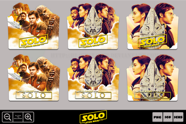 Solo A Star Wars Story (2018) Folder Icon Pack 1 by Bl4CKSL4YER