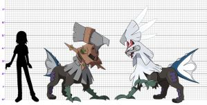 Pokemon Size Chart: Null and Silvally